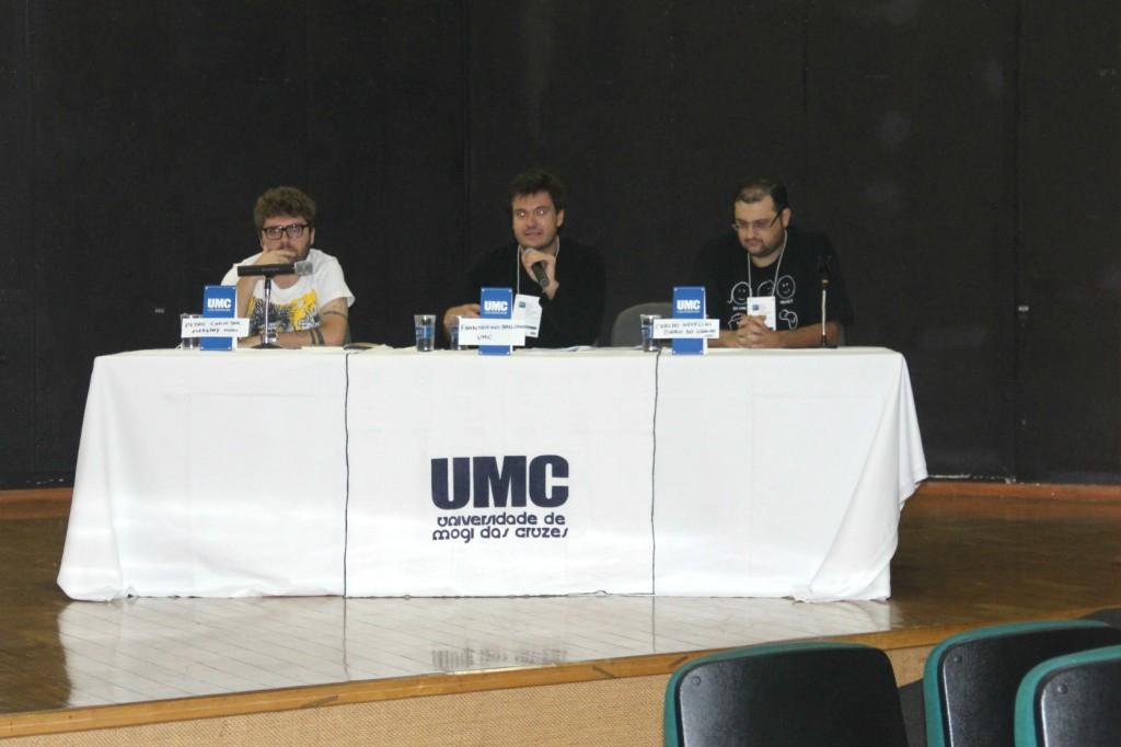 Chavedar, Ballerini e Novellini tratam sobre a importância de uma boa reportagem