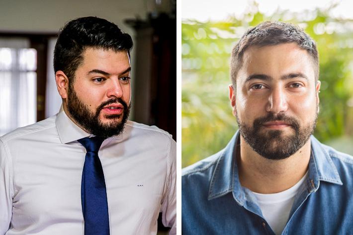 Gabriel Cecílio e Fernando Martins@Divulgação
